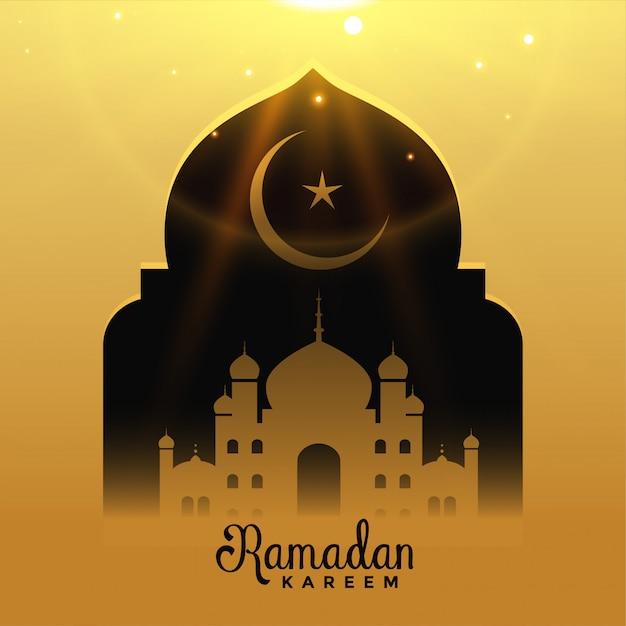 Fond de ramadan kareem Vecteur gratuit