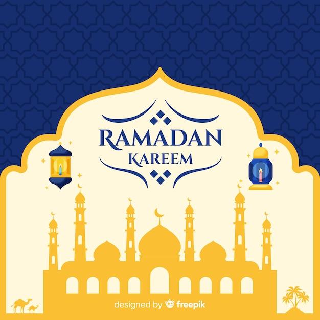 Fond de ramadan Vecteur gratuit