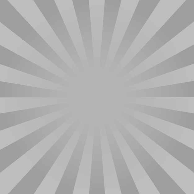 Fond De Rayons Monochromes Vecteur Premium