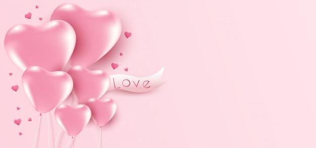 25-100 je vous aime ballons cœur forme saint valentin romantique baloons son