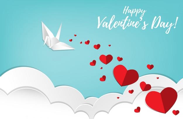 Fond De Saint Valentin. Vecteur Premium