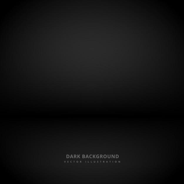 Fond sombre noir Vecteur gratuit