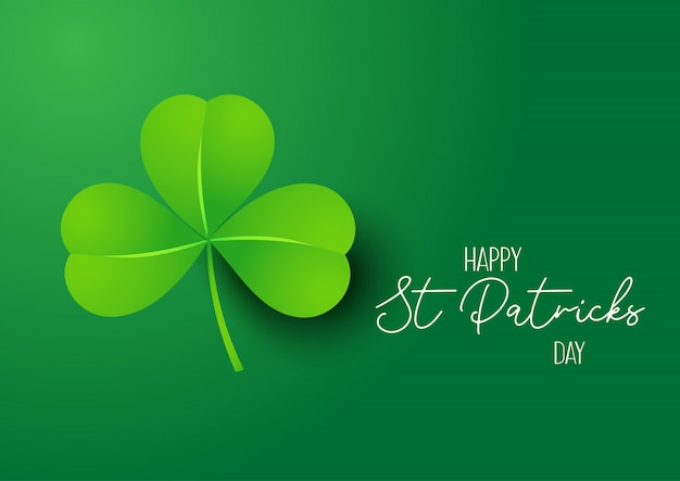 Fond De St Patrick Vecteur gratuit
