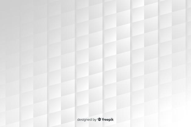 Fond de style géométrique de papier Vecteur gratuit