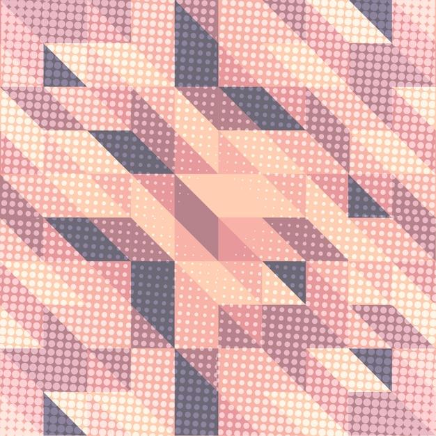 Fond de style scandinave dans les tons rose et violet Vecteur gratuit