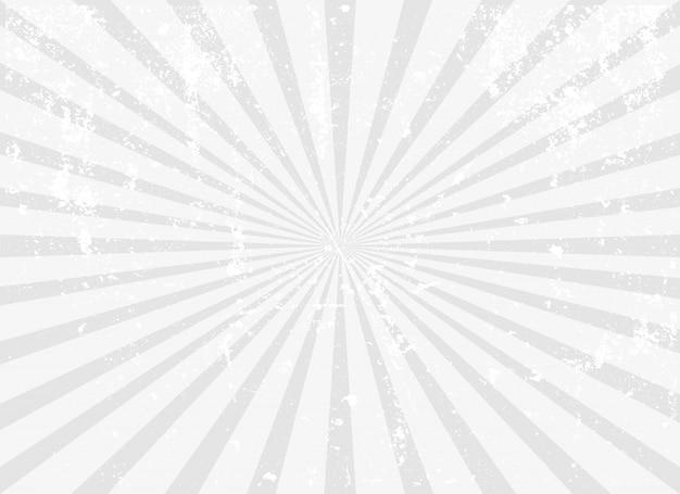 Fond de sunburst vintage grunge Vecteur Premium