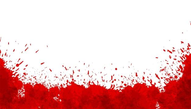 Fond De Taches De Sang Abstrait éclaboussure Rouge Vecteur gratuit