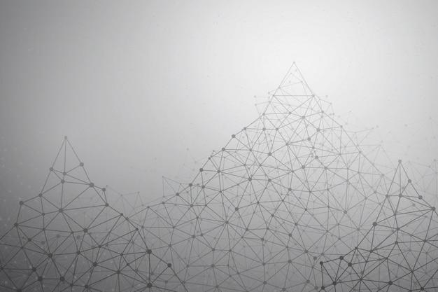 Fond De Technologie Abstract Vector Vecteur Premium
