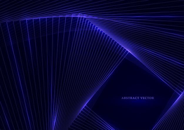 Fond de technologie géométrique. Vecteur Premium