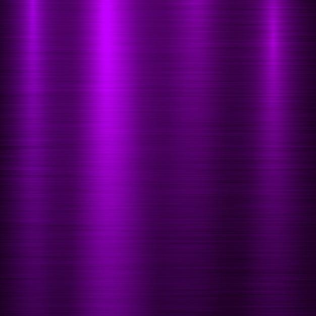 Fond De Technologie De Métal Violet Vecteur Premium