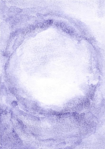 Fond De Texture Abstraite Violet Avec Aquarelle Vecteur Premium