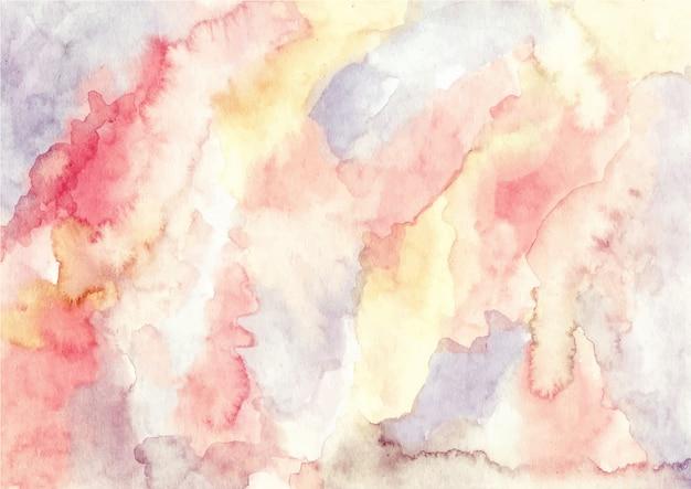 Fond de texture aquarelle abstraite vintage Vecteur Premium