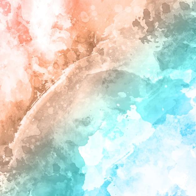 Fond De Texture Aquarelle Détaillée Vecteur gratuit