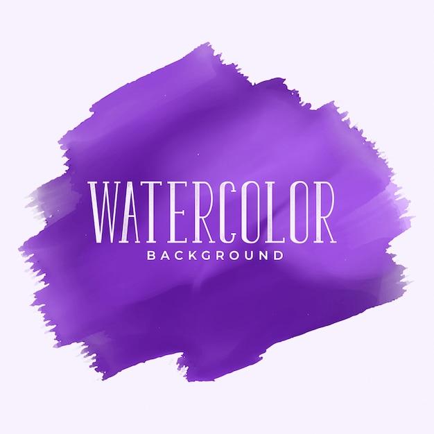 Fond de texture aquarelle violet brillant Vecteur gratuit