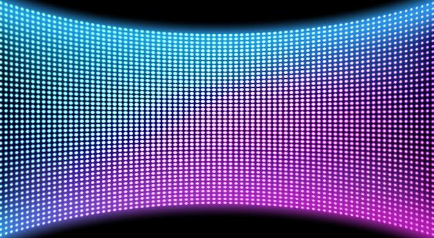 Fond De Texture D'écran De Mur Vidéo Led, Affichage Vecteur gratuit