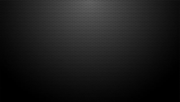 Fond De Texture En Fibre De Carbone Noir Vecteur gratuit
