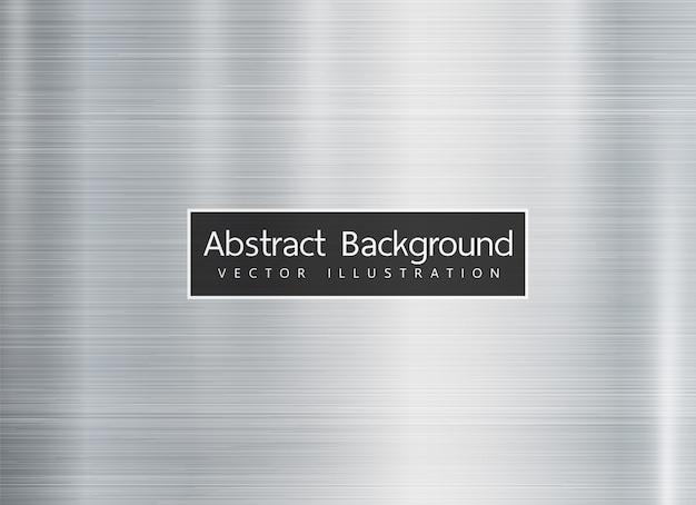 Fond de texture en métal brillant Vecteur Premium