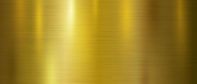 Fond de texture en métal doré Vecteur Premium