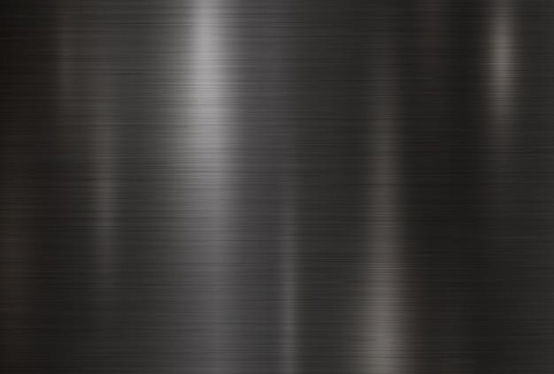 Fond de texture en métal noir Vecteur Premium