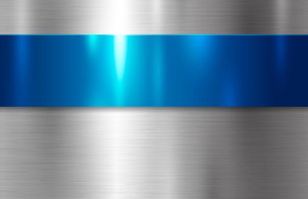 Fond de texture en métal Vecteur Premium