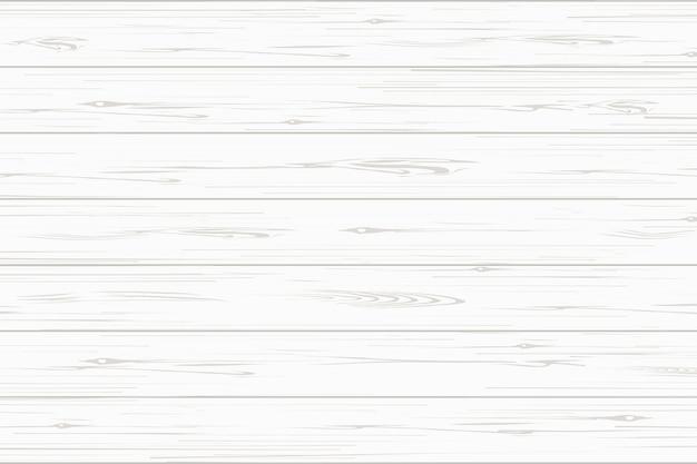 Fond De Texture De Planche De Bois Blanc. Vecteur Premium