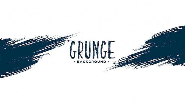 Fond De Texture De Trait D'encre Grunge Abstrait Vecteur gratuit