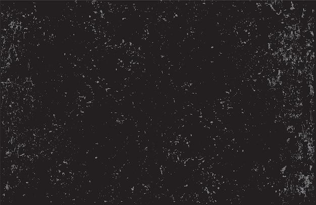Fond de texture vecteur en détresse grunge noir Vecteur Premium