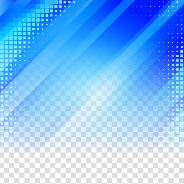 Fond Transparent Géométrique Bleu Vecteur gratuit