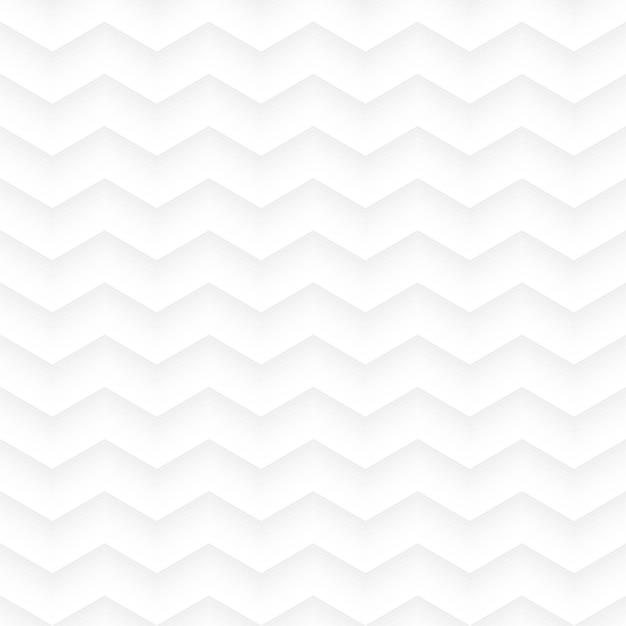 Fond Transparent Géométrique En Zig Zag Blanc Vecteur Premium