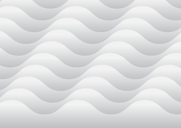 Fond de vagues abstraites Vecteur gratuit