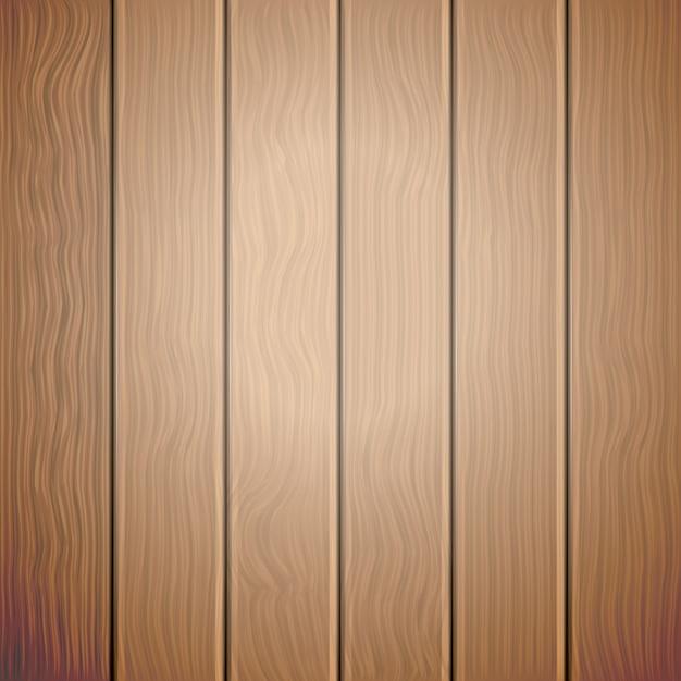 Fond de vecteur en bois ancien brun Vecteur Premium