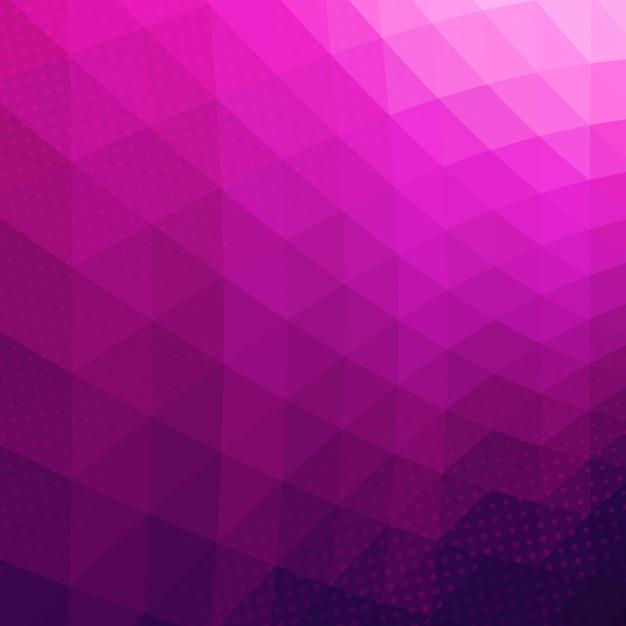 Fond de vecteur géométrique abstrait coloré. Vecteur Premium