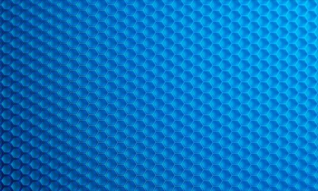 Fond de vecteur moderne hexagone 3d. Vecteur Premium