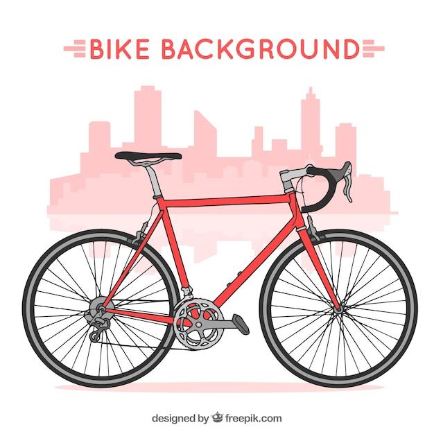 Fond De Vélo Professionnel Vecteur Premium
