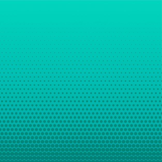 Fond vide de points de demi-teintes turquoise Vecteur gratuit