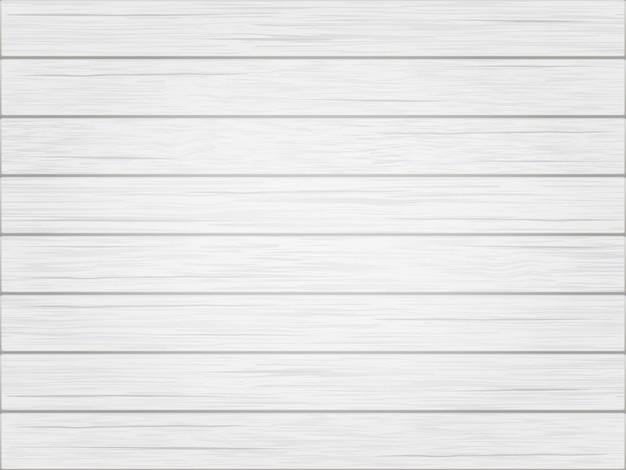 Fond vintage en bois blanc Vecteur Premium