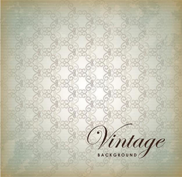 Fond vintage Vecteur Premium
