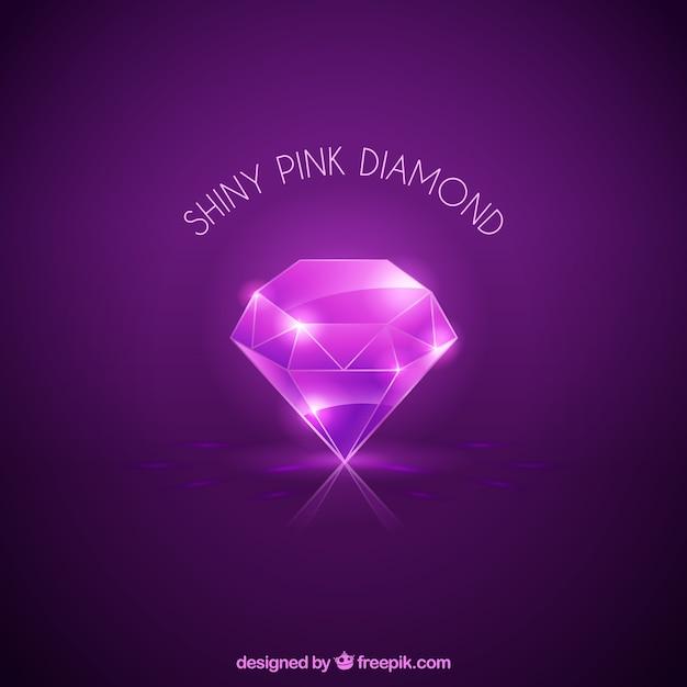 Fond violet brillant diamant Vecteur gratuit