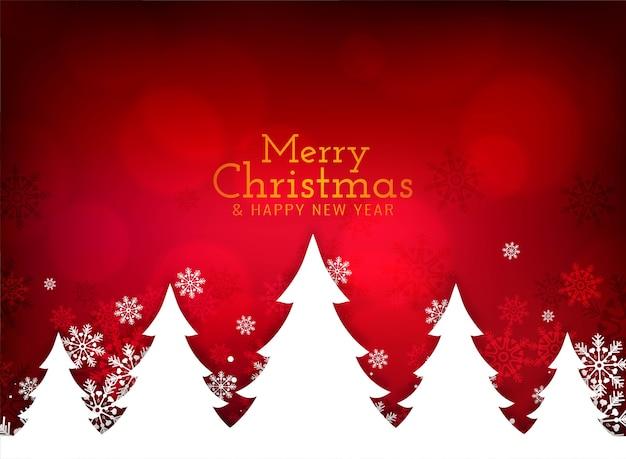 Fond De Voeux Joyeux Noël Festival Vecteur gratuit