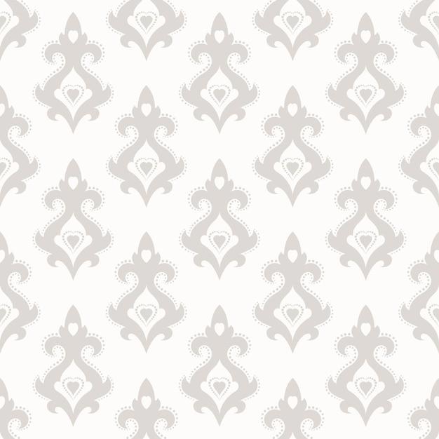 Fonds D'écran De Texture Transparente Dans Le Style Baroque. Vecteur Premium