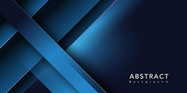 Forme Bleu Foncé Vecteur gratuit