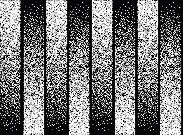 Forme Transparente De Couleur Noir Et Blanc Abstraite