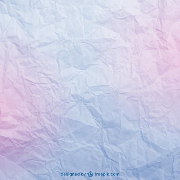 Froissé texture du papier Vecteur gratuit