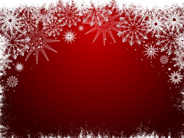 Frozen fond noël rouge   Télécharger des Vecteurs gratuitement