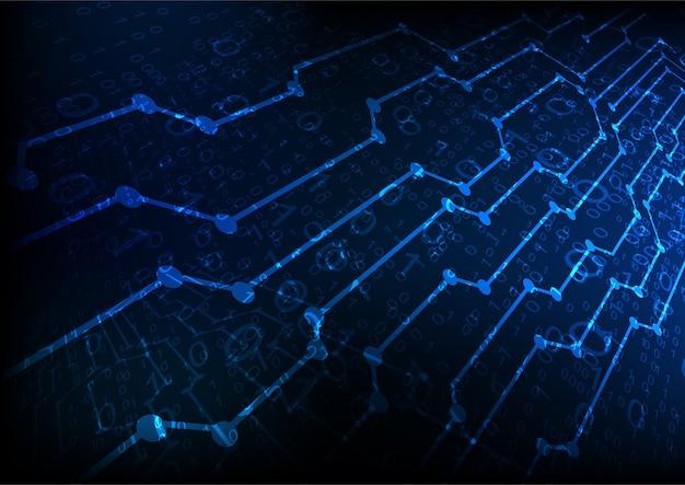 Futur Fond De Technologie Abstraite Vecteur gratuit