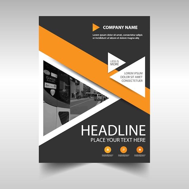 Gabarit de couverture annuelle annuellement Vecteur gratuit