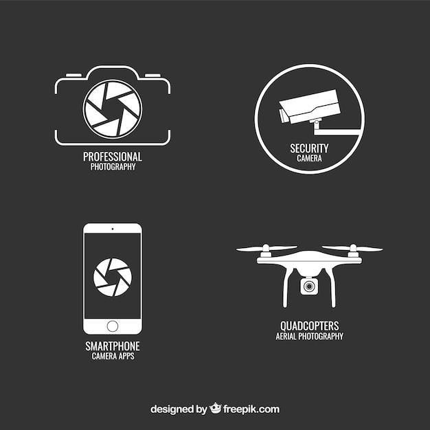 Les gadgets électroniques Vecteur gratuit