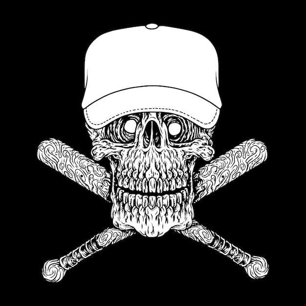 Gangster, icône ou symbole Vecteur Premium