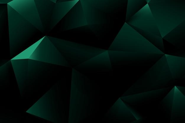 Géométrie de base et forme de polygone abstrait Vecteur Premium