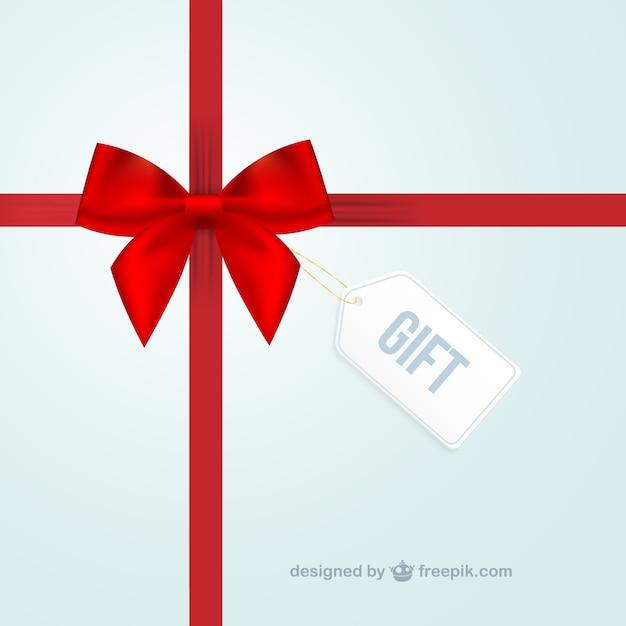 Gift background Vecteur gratuit
